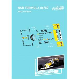 Calca Formula 1 NSR 1/32 Keke Rosberg