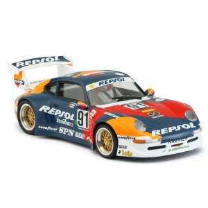 Porsche 911 GT2 - 91 Repsol blue