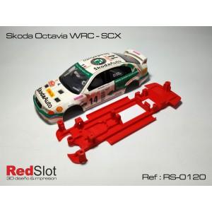CHASIS 3D Skoda Octavia WRC - SCX