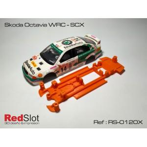 CHASIS 3D Skoda Octavia WRC - SCX Blando