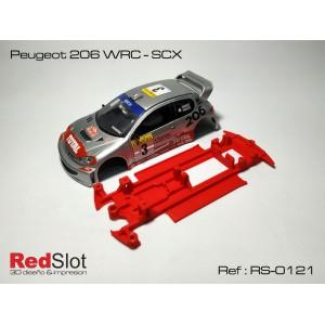 CHASIS 3D Peugeot 206 WRC - SCX