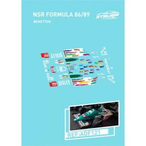Calca Formula 1 NSR 1/32 BENETTON