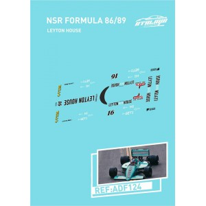 Calca Formula 1 NSR 1/32 Leyton House