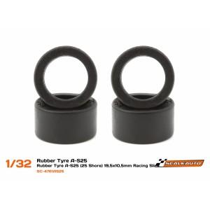 Neumatico goma AS25 19,5 x 10,5mm Shore 25 x 4