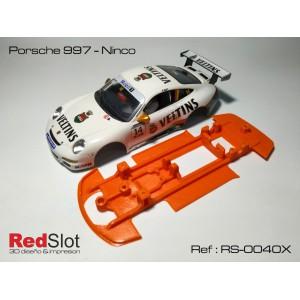 CHASIS 3D Blando Porsche 997 - Ninco