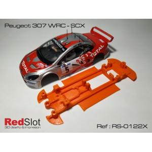 CHASIS 3D Blando Peugeot 307 WRC - SCX