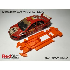 CHASIS 3D Blando Mitsubishi EVO VII WRC - SCX