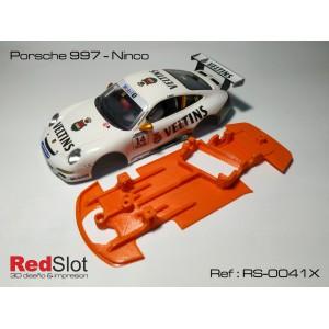 CHASIS 3D Blando Angular Porsche 997 - Ninco