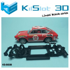 Chasis lineal black Seat 850 Coupe SCX