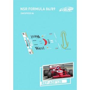 Calca Formula 1 NSR 1/32 Zakspeed