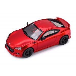 CT01Y Subaru BRZ Rojo con luces SIN CAJA