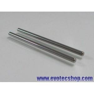Ejes acero 3/32 (2.37mm) x 50mm (x 2)