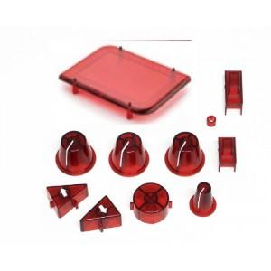 Botones Mando Electronico SCP-3 en Rojo