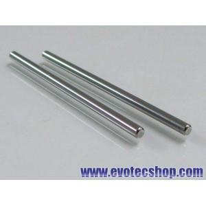 Ejes acero 3/32 (2.37mm) x 55mm (x 2)