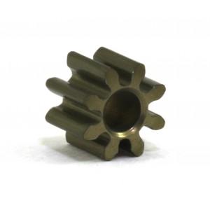 Piñón 8d. M50 ERGAL para Eje 2mm diam 5,5mm