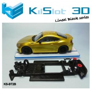 Chasis lineal black compatible Toyota GT86 / Subaru BRZ POLICAR