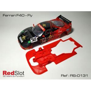 CHASIS 3D Ferrari F40 - Fly para bancada Externa