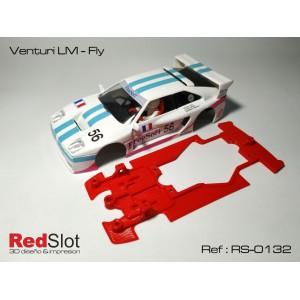CHASIS 3D Venturi LM - Fly para bancada Externa