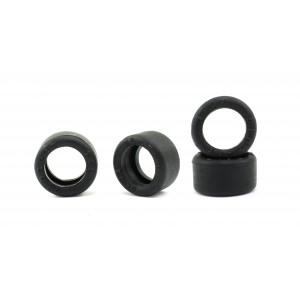 Neumático Goma 18x10mm Slick Compuesto G25 x 4
