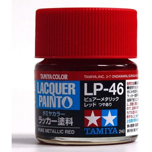 Lacquer Paint Pure Metallic Red 10ml LP46