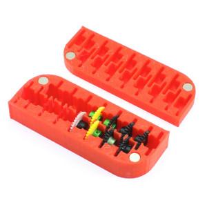 Caja 3DP para 16 coronas Anglewinder 1/32 15 16 mm