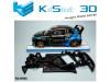 Chasis angular RACE SOFT compatible Audi S1 WRX SCX
