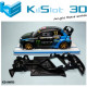 Chasis angular RACE SOFT compatible Audi S1 WRX SCX
