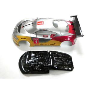 Cockpit de Lexan rally Cupra (comp. Scalextric)