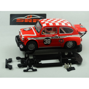 Chasis 3D Fiat ABARTH 1000 For SCX Body
