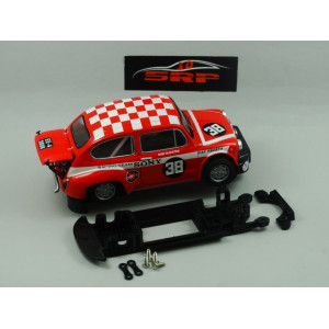 Chasis 3D Fiat ABARTH 1000 For SCX Body Long Can
