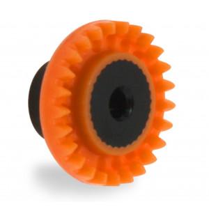 Corona 25 dientes Nylon in line eje 3/32 - 2,38 mm