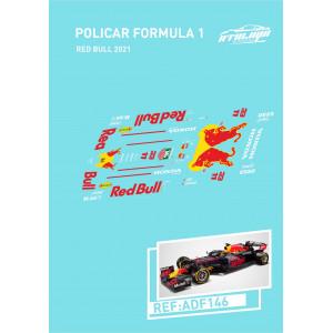 Calca Formula 1 Policar 1/32 RedBull 2021