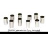 Separador inox. 5 mm. de longitud para eje 2,38 mm