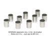 Separador inox. 4 mm. de longitud para eje 3 mm