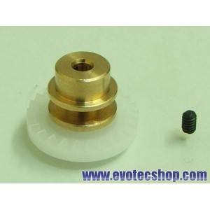 Corona 24 z en linea Bronce Step 2 Despl 1mm
