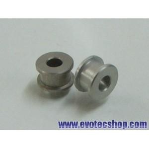 Cojinetes de aluminio 3/32 (x 2)