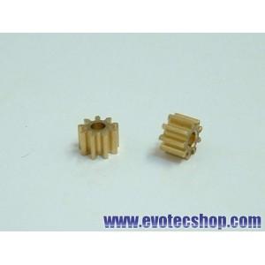 Piñones 9 dientes en linea (5.5 mm) (x 2)