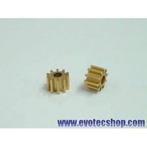 Piñones 10 dientes en linea (5,5 mm) (x 2)