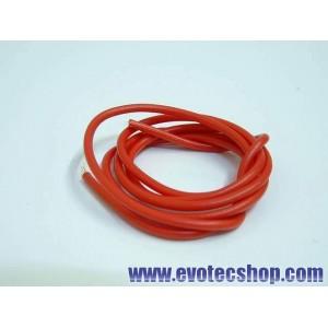Cable de silicona Rojo