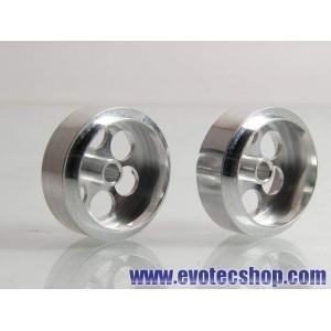 Llanta aluminio aligerada 17 mm (X 2)