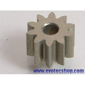Piñon 10 D diam 6,5 mm Ergal Transversal o Anglewinder (x 1)