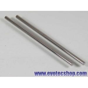 Ejes acero 3/32 (2.37mm) x 60mm (x 2)