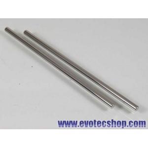 Ejes acero 3/32 (2.37mm) x 65mm (x 2)