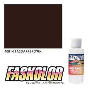 Pintura acrilica Marron Oscuro 60 ml