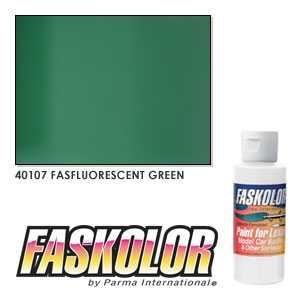 Pintura acrilica Fluorescente Verde 60 ml