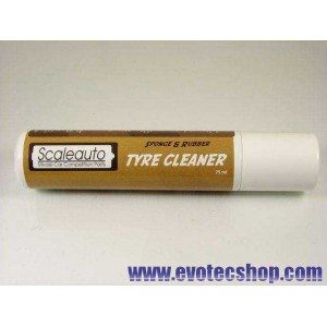 Limpiador de neumaticos de goma y espuma