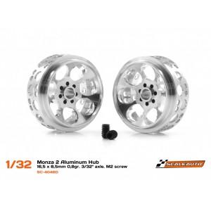 Llanta aluminio 16.5x8.5mm. Monza-2 para Eje 3/32