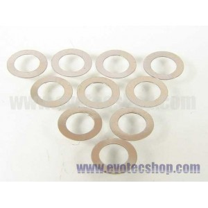 Arandelas separacion de guia 0,1x 3,8 x 6 mm 10 Ud