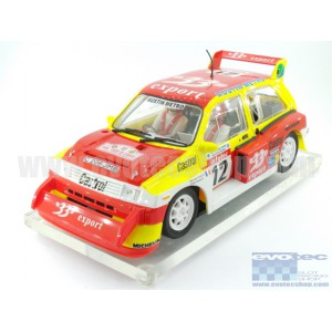 MG Metro 6R4 33 Export Tour de Corse 1986 Chasis Home Series