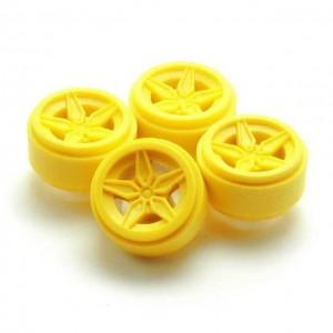 Llantas Stratos Traseras Amarillo Limon